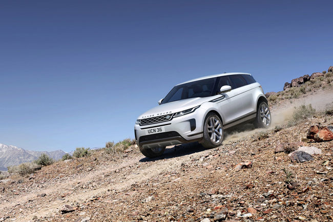 Range Rover Evoque : Version remasterisée