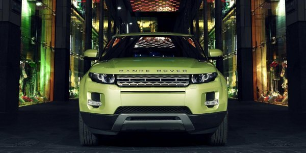 Un Land Rover Evoque cabriolet