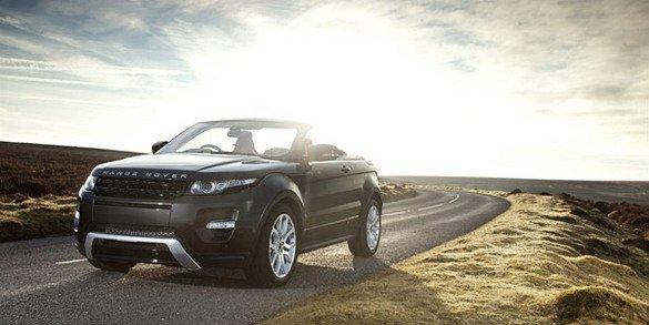 Le Range Rover Evoque Cabriolet en vidéo