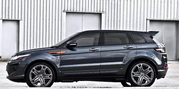 Kahn se penche sur le Range Rover Evoque