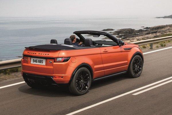 nouveau range rover evoque cabriolet actualit automobile motorlegend. Black Bedroom Furniture Sets. Home Design Ideas