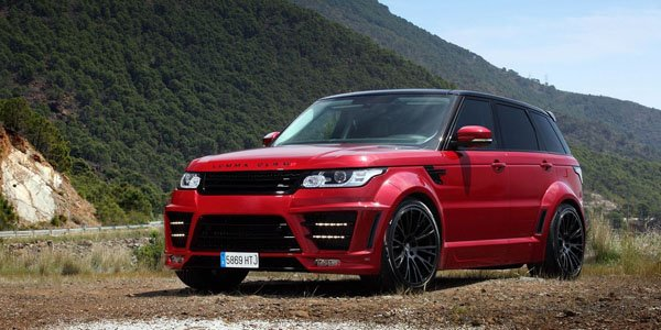 Luma CLR RS : le Range Rover Sport bodybuildé