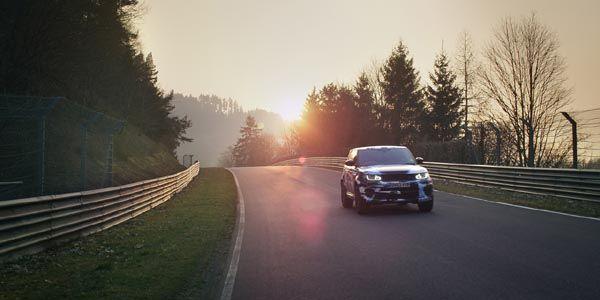 Le Range Rover Sport SVR en 8'14 sur le Ring