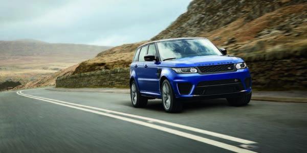 Le Range Rover Sport SVR présenté à Pebble Beach