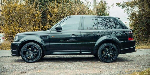 Un Range Rover Sport ex-David Beckham aux enchères