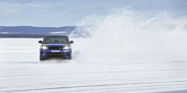Ben Saunders teste le Range Rover Sport SVR