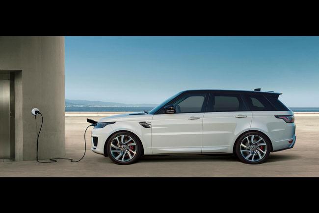 Le Range Rover Sport restylé et électrifié