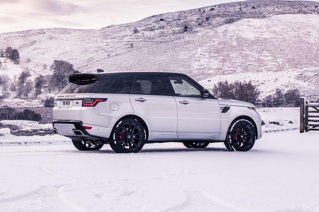 Nouvelle motorisation pour le Range Rover Sport