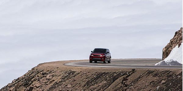 Record pour Range Rover à Pikes Peak
