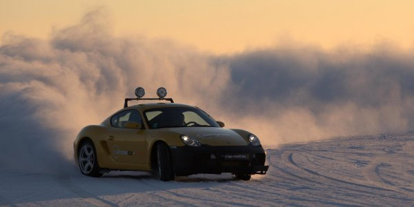 Laponie Ice Driving : stages 100% glisse