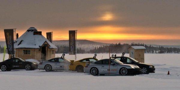 Laponie Ice Driving, saison 2012