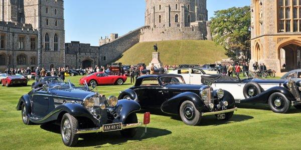 Le Concours of Elegance revient au Château de Windsor en 2016