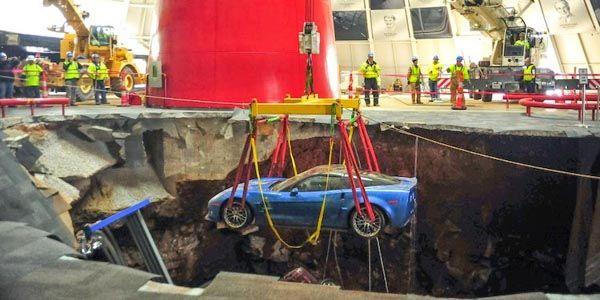 Le National Corvette Museum finalement restauré