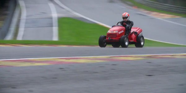 Tiago Monteiro malmène le Mad Mower sur Spa-Francorchamps