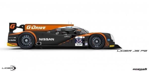 Le Mans : les couleurs de la Ligier JS P2 du OAK Racing