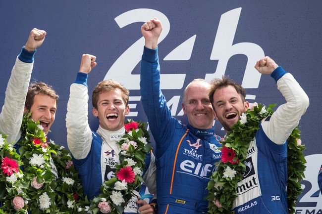 Le Mans : Alpine s'impose en LMP2