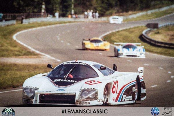 Le Mans Classic : 40 Group C en piste