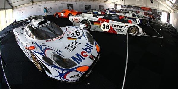 Exposition Porsche au Mans 2014