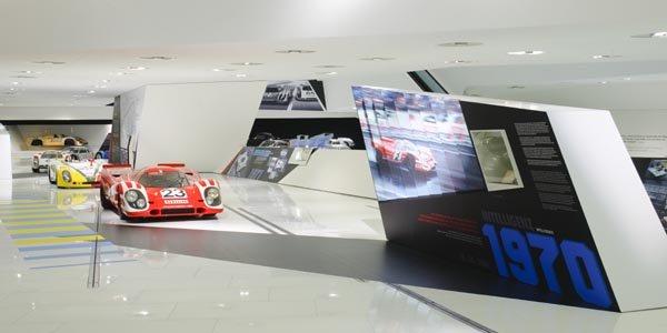Expo spéciale Le Mans au Musée Porsche