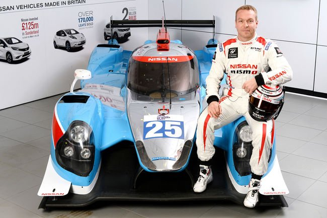 Le Mans : Sir Chris Hoy au départ