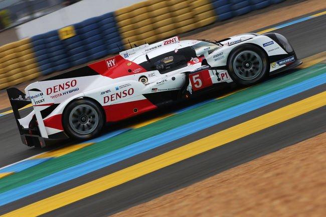Le Mans : test positif pour Toyota
