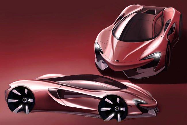 Le McLaren Design Tour lancé aujourd'hui à Paris