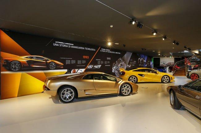Le nouveau musée Lamborghini inauguré