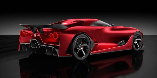 Le concept 2020 Vision GT Nissan restylé