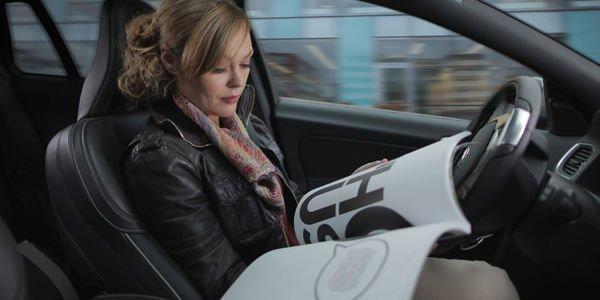 Volvo présente le Pilotage Automatique Intellisafe