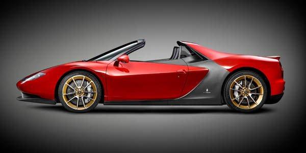 La première Ferrari Sergio livrée à son propriétaire