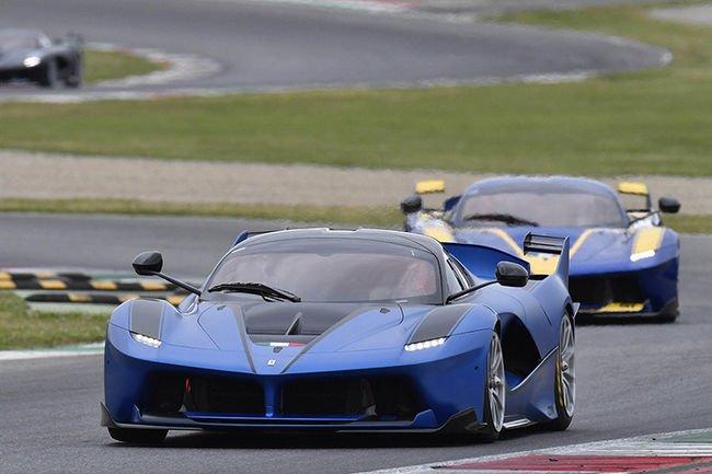 Étape au Mugello pour les programmes Ferrari XX et F1 Clienti