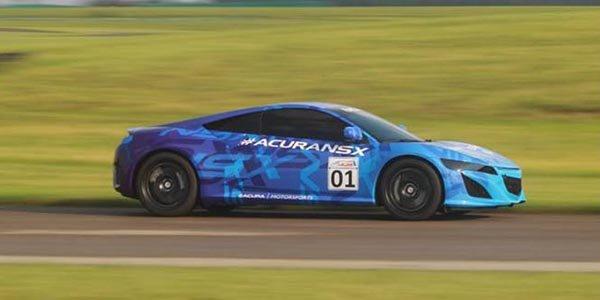 Le prototype Honda NSX déjà en piste !