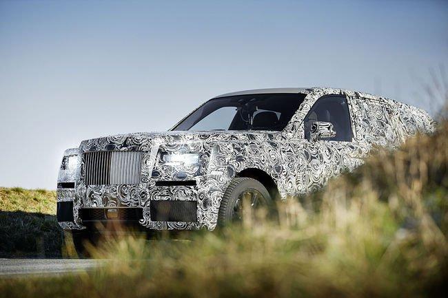 Projet Rolls-Royce Cullinan : premières photos