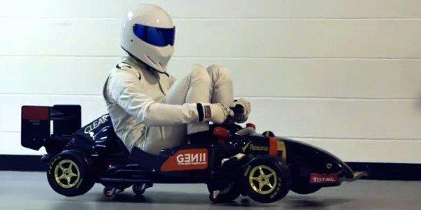 Le Stig en visite chez Lotus F1
