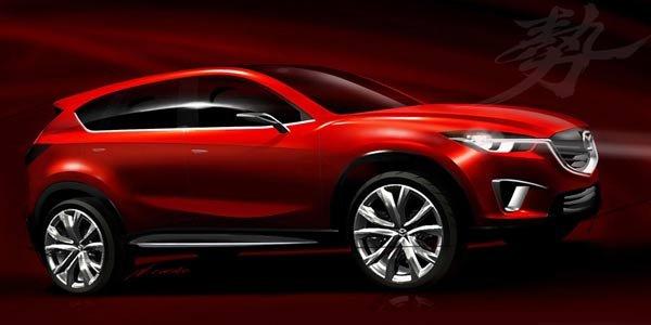 Logique : le crossover Mazda baptisé CX-5