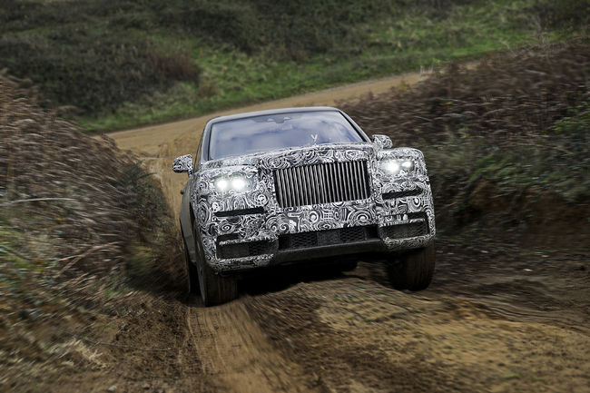 Le SUV de Rolls-Royce s'appelera Cullinan