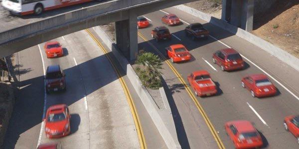 Le trafic de San Diego en timelapse