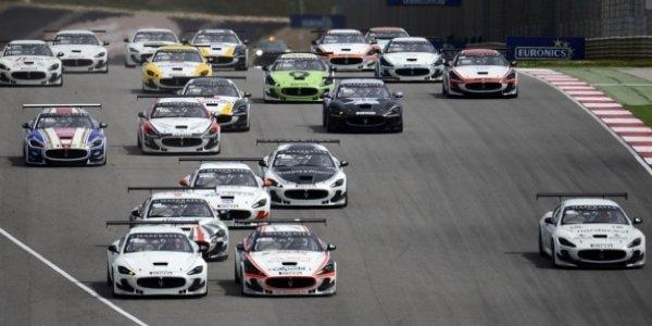 Le Trophée Maserati lancé au Castellet