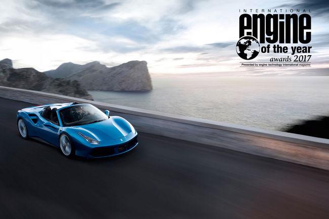 Les moteurs Ferrari de nouveau primés