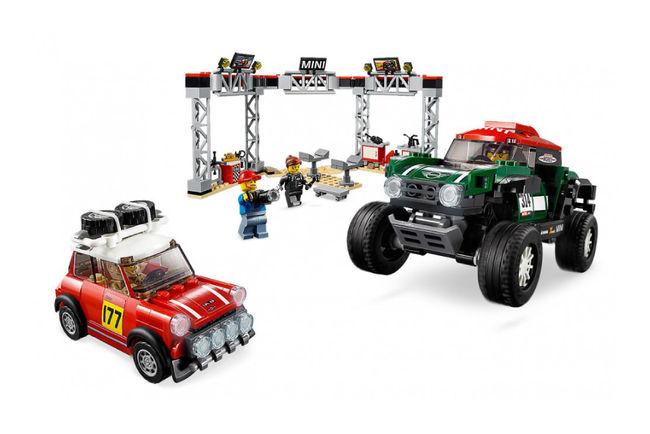 Dodge et MINI dans la gamme LEGO Speed Champions