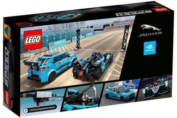 Les Jaguar I-Pace et Formula E arrivent chez LEGO