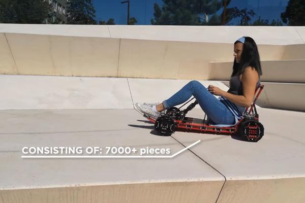 Construisez votre karting grandeur nature en Lego