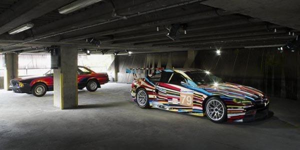 Les 16 BMW Art Cars aux JO de Londres
