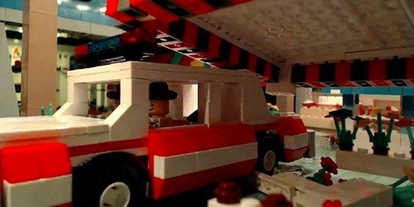Les Blues Brothers revisités en Lego