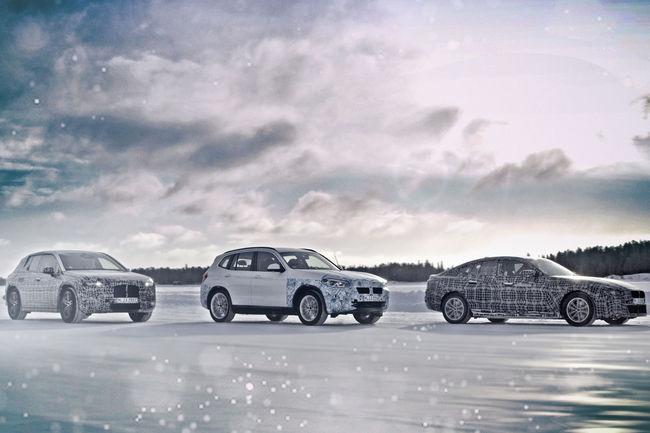 Essais grand froid pour les BMW iNEXT, i4 et iX3