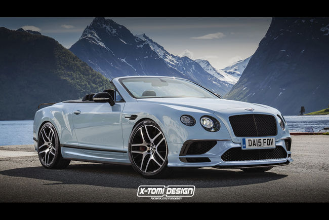 Kia Stinger et Bentley Continental Supersports par X-Tomi Design