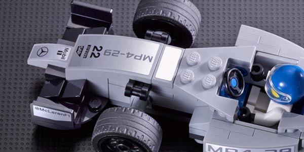 Lego s'associe à Ferrari, McLaren et Porsche