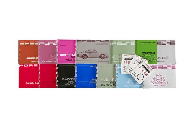 Porsche Classic réimprime les anciens manuels de conduite