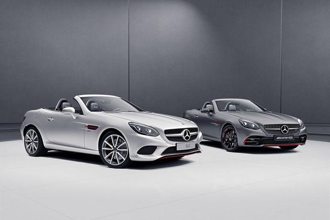 Nouvelles finitions pour les Mercedes SL et SLC