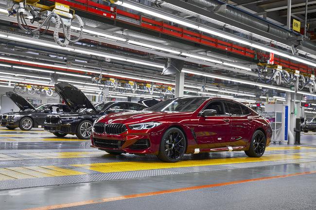 Production lancée pour les nouvelles BMW Série 8